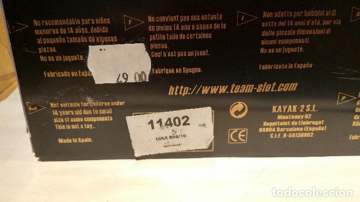 Slot Cars: LOLA B98/10 MOTOROLA TEAM SLOT REF. 11402 - Foto 2 - 63361172
