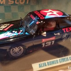 Slot Cars: ALFA ROMEO GIULIA GTA TEXACO TEAM SLOT REF.11105 SCALEXTRIC. Lote 67110429
