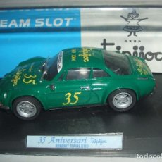 Slot Cars: RENAULT ALPINE A110 EDICION ESPECIAL TRIPIJOC DE TEAM SLOT. Lote 173868985