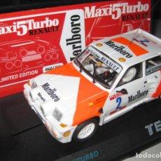Slot Cars: EXCLUSIVO - RENAULT 5 MAXITURBO DE MONZON ED. NUMERADA DEL 1 AL 250 DE TEAM SLOT. Lote 95632263