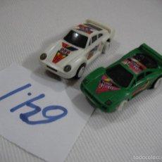 Slot Cars: LOTE DE DOS COCHES SLOT. Lote 68400317