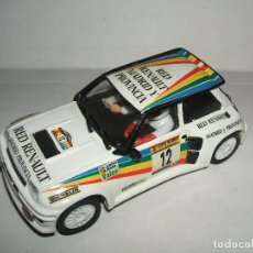 Slot Cars: RENAULT MAXI TURBO DE TEAM SLOT. Lote 71513259