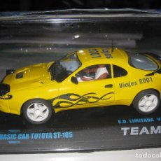 Slot Cars: TOYOTA AMARILLO EDICION LIMITADA - BASIC CAR DE TEAM SLOT. Lote 242954900