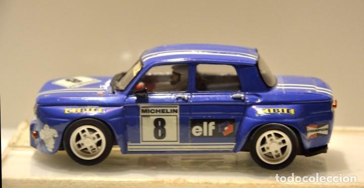 RENAULT 8 TS GR.5 AZUL TEAM SLOT (Juguetes - Slot Cars - Team Slot)