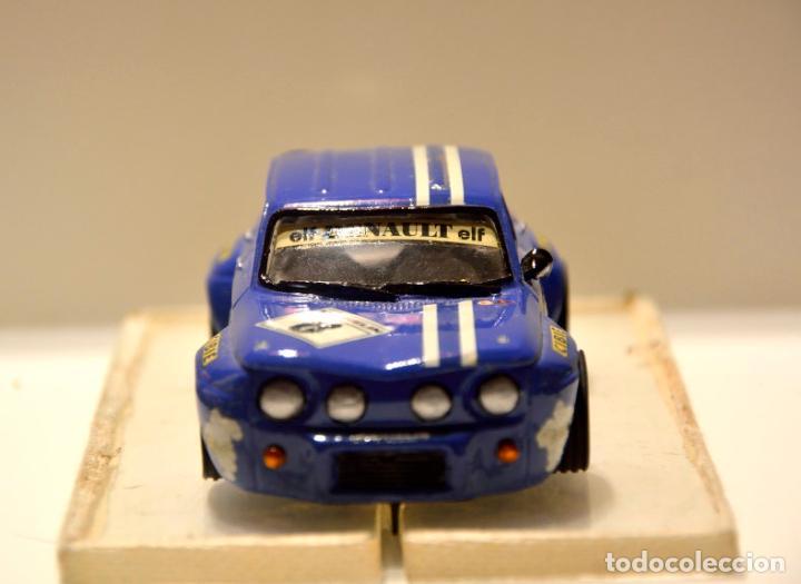 Slot Cars: RENAULT 8 TS GR.5 AZUL TEAM SLOT - Foto 2 - 76650815