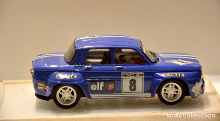 Slot Cars: RENAULT 8 TS GR.5 AZUL TEAM SLOT - Foto 4 - 76650815