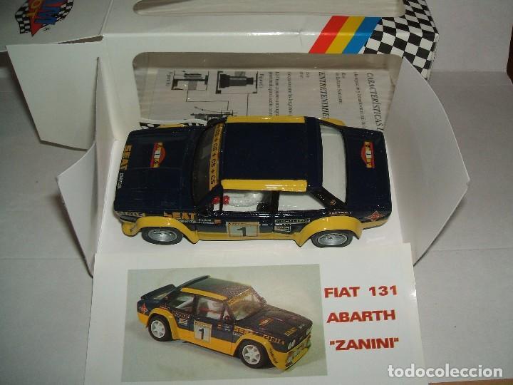 131 ABARTH ZANINI DE TEAM SLOT REF.-70601 (Juguetes - Slot Cars - Team Slot)