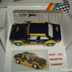 Slot Cars: 131 ABARTH ZANINI DE TEAM SLOT REF.-70601. Lote 145149353