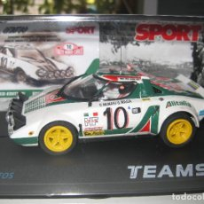 Slot Cars: BLACK FRIDAY - LANCIA STRATOS ALITALIA EDICION NUMERADA SPORT DE TEAM SLOT. Lote 122334940