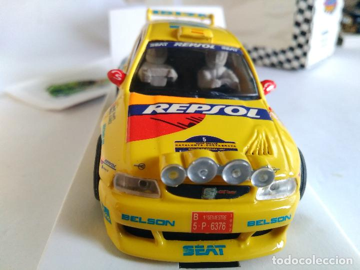 Slot Cars: TEAM SLOT SEAT IBIZA KIT CAR RALLYE CATALUÑA. RESINA. NUEVO. EN CAJA. VÁLIDO SCALEXTRIC. REF 10304 - Foto 3 - 83968436