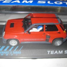 Slot Cars: OFERTA - RENAULT 5 TURBO ROJO DE TEAM SLOT. Lote 242826770