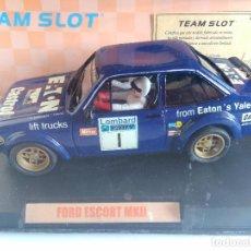Slot Cars: TEAM SLOT FORD ESCORT MKII EATON . RESINA. ED LIMITADA 1000 UN. RAC 79REF 74301 VÁLIDO SCALEXTRIC. Lote 87181164