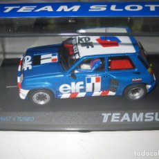 Slot Cars: 12003 - RENAULT 5 COPA TURBO ELF DE RAGNOTTI DE TEAM SLOT. Lote 98199288