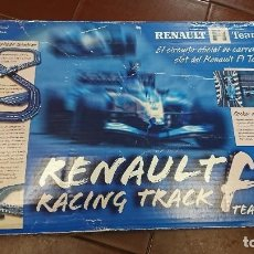 Slot Cars: RENAULT F1 RACING TRACK,SLOT, FERNANDO ALONSO. Lote 96748299