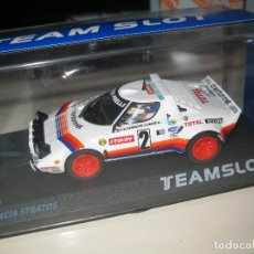 Slot Cars: BLACK FRIDAY -11513 - LANCIA STRATOS TOUR DE FRANCE 1980 DE TEAM SLOT. Lote 181949130