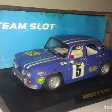 Slot Cars: COCHE TEAM SLOT RENAULT 8 TS COPA GR.5 NUEVO EN SU CAJA ORIGINAL - TIPO SCALEXTRIC -. Lote 100343223