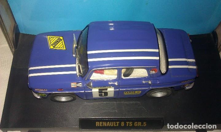 Slot Cars: COCHE TEAM SLOT RENAULT 8 TS COPA GR.5 NUEVO EN SU CAJA ORIGINAL - TIPO SCALEXTRIC - - Foto 3 - 100343223