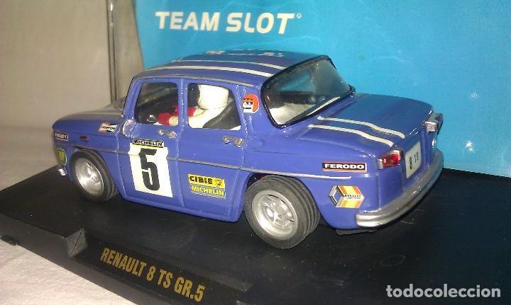 Slot Cars: COCHE TEAM SLOT RENAULT 8 TS COPA GR.5 NUEVO EN SU CAJA ORIGINAL - TIPO SCALEXTRIC - - Foto 4 - 100343223