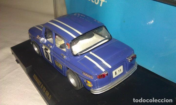 Slot Cars: COCHE TEAM SLOT RENAULT 8 TS COPA GR.5 NUEVO EN SU CAJA ORIGINAL - TIPO SCALEXTRIC - - Foto 5 - 100343223