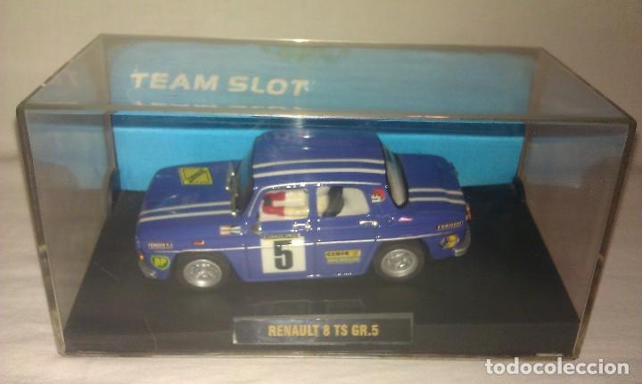 Slot Cars: COCHE TEAM SLOT RENAULT 8 TS COPA GR.5 NUEVO EN SU CAJA ORIGINAL - TIPO SCALEXTRIC - - Foto 7 - 100343223