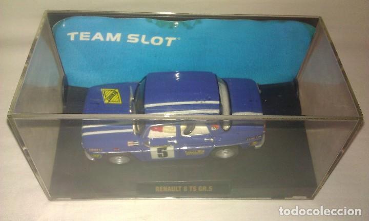 Slot Cars: COCHE TEAM SLOT RENAULT 8 TS COPA GR.5 NUEVO EN SU CAJA ORIGINAL - TIPO SCALEXTRIC - - Foto 8 - 100343223