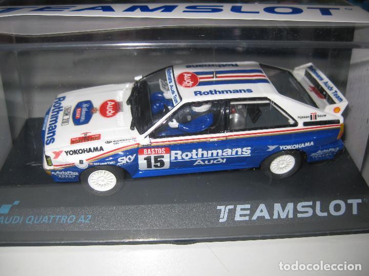 12304 - AUDI QUATTRO A2 ROTHMANS CON NUEVO CHASIS DE TEAM SLOT (Juguetes - Slot Cars - Team Slot)