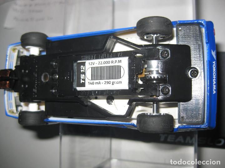 Slot Cars: 12304 - AUDI QUATTRO A2 ROTHMANS CON NUEVO CHASIS DE TEAM SLOT - Foto 2 - 120588896