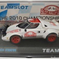 Slot Cars: LANCIA STRATOS ED. LIMITADA SLOT RALLY GB TEAM SLOT. Lote 102396420
