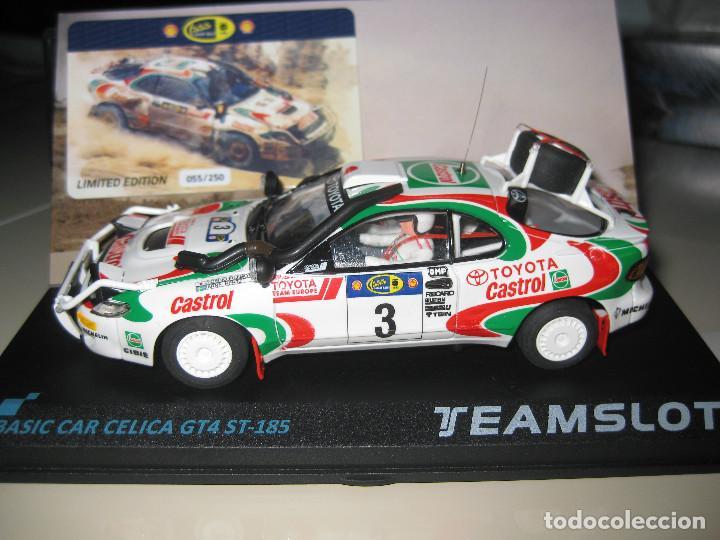 SRE013 - TOYOTA CELICA GT-4 RALLY SAFARI 95 DE TEAM SLOT (Juguetes - Slot Cars - Team Slot)