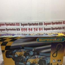Slot Cars: SUPERSLOT SPORT RENAULT F1 A ESTRENAR. Lote 109234732