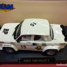 Slot Cars: TEAM SLOT. SIMCA 1000. RALLYE 3. Lote 109713711