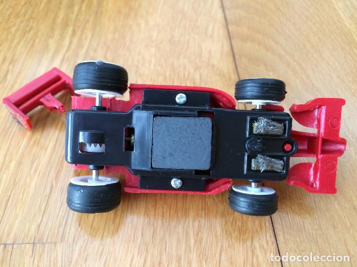Slot Cars: Coche de carreras. Compatible Scalextric. Alerón trasero roto - Foto 2 - 110713519