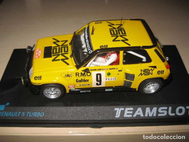 RENAULT 5 TURBO NEW MAN DE TEAM SLOT (Juguetes - Slot Cars - Team Slot)
