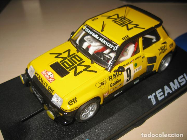 Slot Cars: RENAULT 5 TURBO NEW MAN DE TEAM SLOT - Foto 2 - 117033842