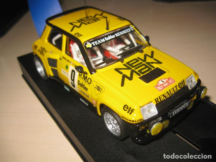 Slot Cars: RENAULT 5 TURBO NEW MAN DE TEAM SLOT - Foto 3 - 117033842