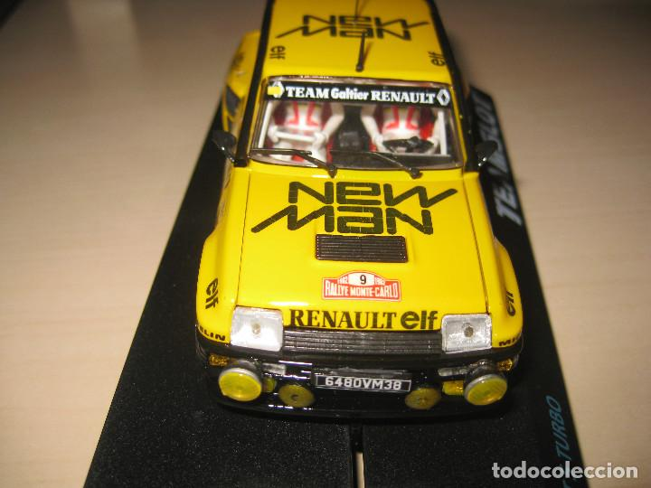 Slot Cars: RENAULT 5 TURBO NEW MAN DE TEAM SLOT - Foto 4 - 117033842