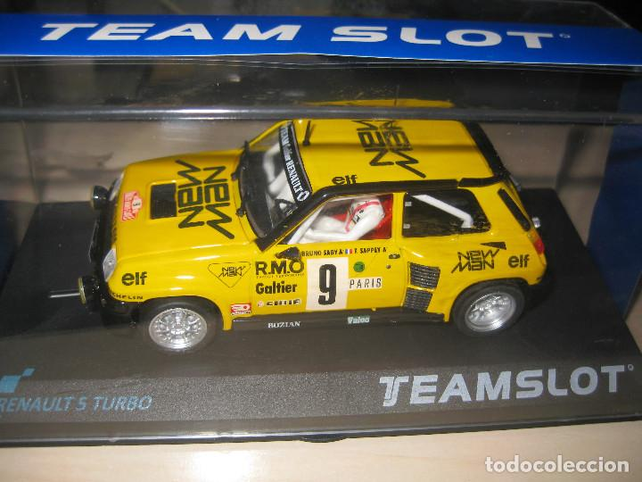 Slot Cars: RENAULT 5 TURBO NEW MAN DE TEAM SLOT - Foto 5 - 117033842