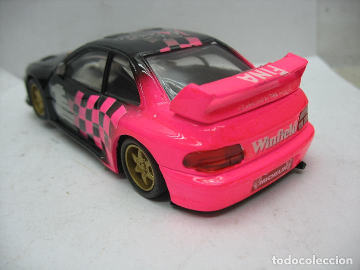 Slot Cars: ¿SCALEXTRIC? TEAM SLOT - Coche de carreras Manual 2000 FINA - Escala 1/32 - Foto 3 - 112895563