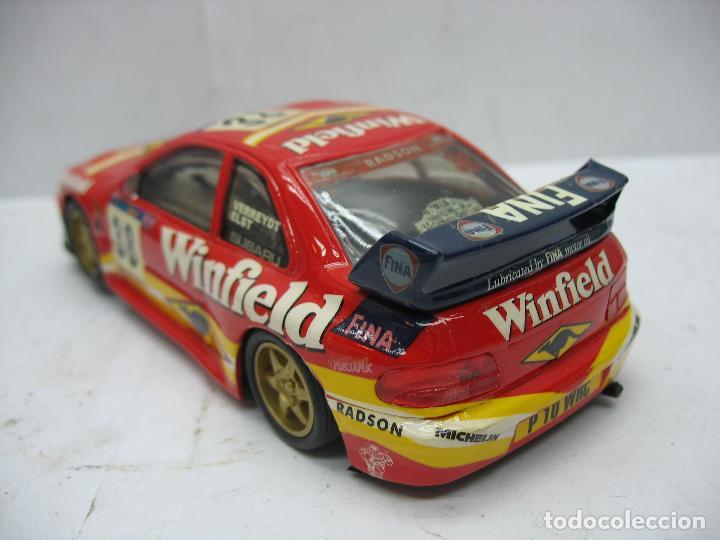 Slot Cars: ¿SCALEXTRIC? TEAM SLOT Ref: 10603 - Coche de carreras Winfield 38 Subaru - Escala 1/32 - Foto 4 - 112897319
