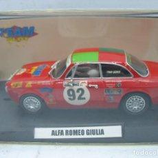 Slot Cars: SCALEXTRIC TEAM SLOT REF: 11101 - COCHE DE CARRERAS ALFA ROMEO GIULIA 92 . Lote 114470211