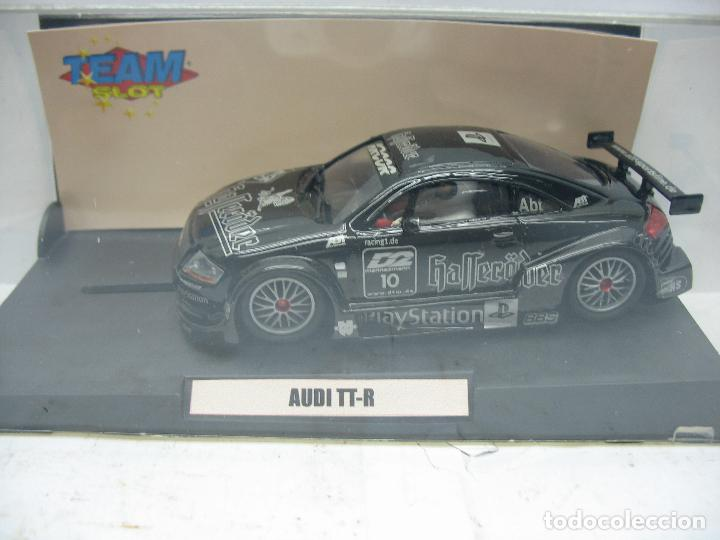 SCALEXTRIC TEAM SLOT REF: 73401 - COCHE DE CARRERAS AUDI TT-R (Juguetes - Slot Cars - Team Slot)