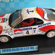 Slot Cars: TEAM SLOT TOYOTA CELICA GT 4 ST 185, VÁLIDO SCALEXTRIC. EN URNA. Lote 115321271