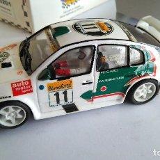 Slot Cars: TEAM SLOT SKODA OCTAVIA WRC MONTECARLO 1999, VÁLIDO SCALEXTRIC. Lote 115333471
