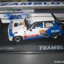 Slot Cars: EXCLUSIVO JAVISLOT- SRE18 - RENAULT 5 TURBO DUCADOS DE J. PAREJA EUROCUP 1984 DE TEAM SLOT. Lote 160101892