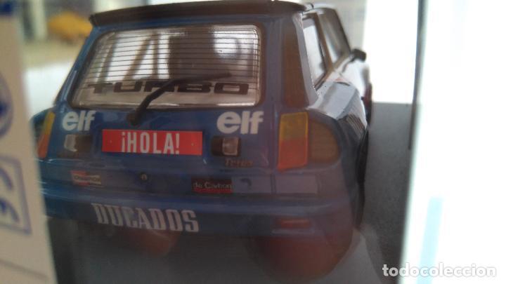 Slot Cars: TEAM SLOT RENAULT 5 R5 TURBO ELF DUCADOS, PAREJA EUROCUP 84.ED. LIMITADA.VÁLIDO SCALEXTRIC - Foto 3 - 189439876