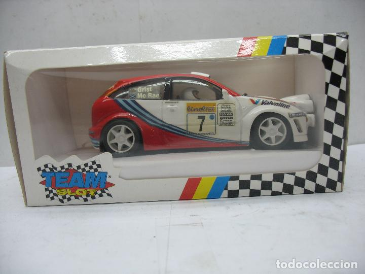 ¿SCALEXTRIC? TEAM SLOT REF: 72501 - COCHE DE CARRERAS FORD FOCUS WRC (Juguetes - Slot Cars - Team Slot)