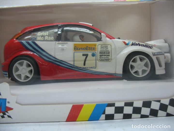 Slot Cars: ¿SCALEXTRIC? TEAM SLOT Ref: 72501 - Coche de carreras Ford Focus WRC - Foto 2 - 121136335