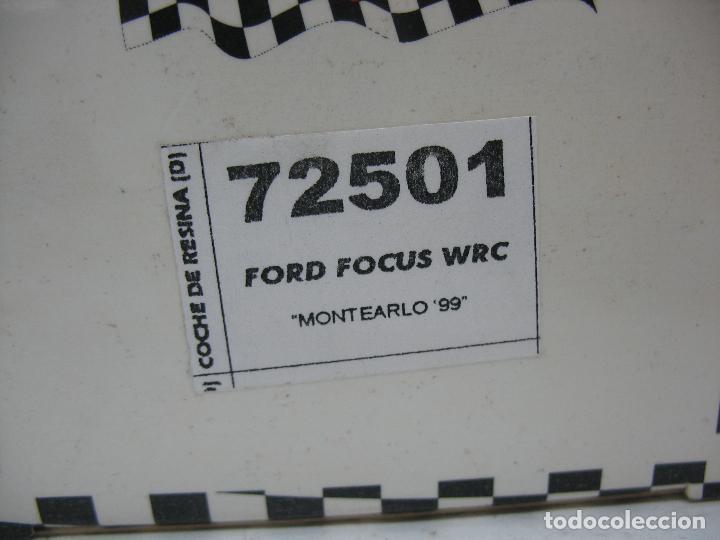 Slot Cars: ¿SCALEXTRIC? TEAM SLOT Ref: 72501 - Coche de carreras Ford Focus WRC - Foto 4 - 121136335