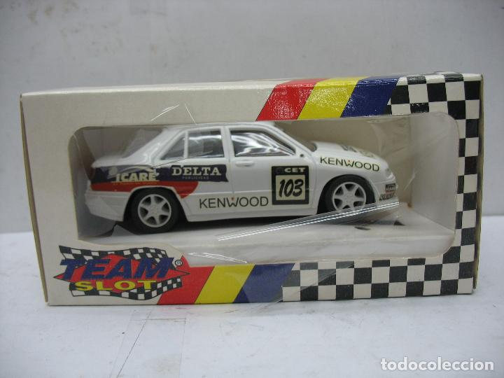 ¿SCALEXTRIC? TEAM SLOT REF: 10201 - COCHE DE CARRERAS SEAT TOLEDO REPSOL 95 KENWOOD 103 (Juguetes - Slot Cars - Team Slot)