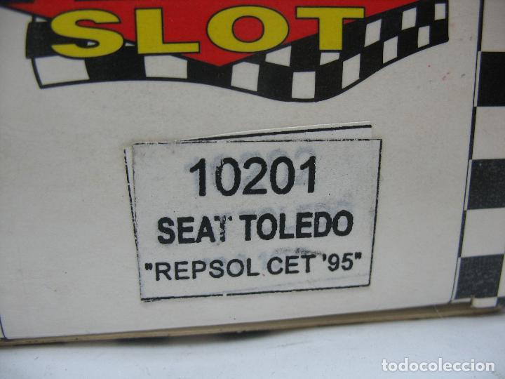 Slot Cars: ¿SCALEXTRIC? TEAM SLOT Ref: 10201 - Coche de carreras Seat Toledo Repsol 95 Kenwood 103 - Foto 3 - 121136435